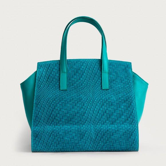 geanta turcoaz